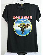 Iron Maiden Can I Play With Madness T-Shirt Black Heavy Metal Men's Tee Size M L