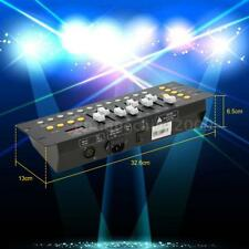 Mini 192Channels DMX Controller Console Stage Lighting Operator Equipment R7J8