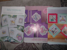 BABY CROSS STITCH CHARTS YOU CHOOSE FROM SELECTION OF 3#37