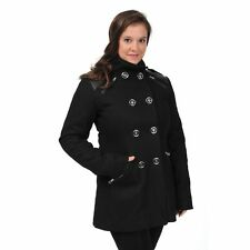 Excelled Women's Wool Fashion Peacoat