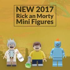 Rick and Morty Lego Compatible Custom Mini Figures In Blocks Minifigures