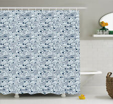 East Urban Home Fish with Bubbles Water Decor Shower Curtain