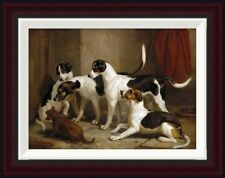 Global Gallery The Puckeridge Foxhounds by Thomas Woodward Framed Painting Print