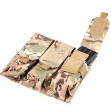 Tactical Mag Holder Bags PALS MOLLE AR M4 5.56/.223 Triple Magazine Pouch
