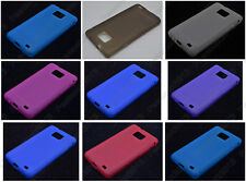 Multi Color Matting TPU Silicone CASE Cover For Samsung Galaxy S II S2 I9100