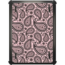 OtterBox Defender for iPad Air Mini 1 2 3 4 Black & Pink Paisley