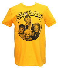 Golden Girls Men's Stay Golden Photo Circle T-Shirt