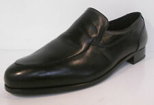 Grenson 'Poole' Gents Black Slip On Leather Bench Made Shoes G Fit