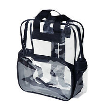 School Clear Backpack Transparent Security Book Bags See Through Small Medium L
