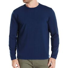 cotton Solid color long sleeved casual o-neck t shirt Autumn and winter man Tee
