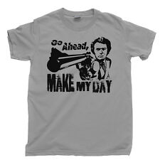 DIRTY HARRY T Shirt Make My Day Clint Eastwood Western Tee DVD Blu Ray Box Set