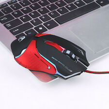1Pcs Wired Glowing USB Cable Computer Mice Gaming Mouse Professional gamer