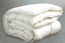 New Luxury White Goose Feather & 15% down Duvet Quilt - 13.5 & 15 Tog - All Size