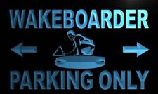 """16""""x12"""" m450-b Wake boarder Parking Only Neon Sign"""