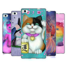 OFFICIAL ASH EVANS MAGICAL CREATURE SOFT GEL CASE FOR HUAWEI PHONES