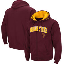Arizona State Sun Devils Mens Vf Full Zip  - Arch & Logo Sweatshirts