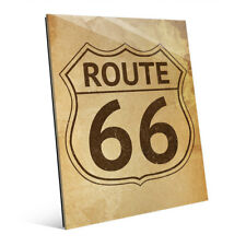 'Route 66' Stained Acrylic Wall Art