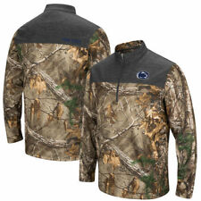 Penn State Nittany Lions Colosseum Mens Outfitter 1/4 Zip Outerwear - Camo
