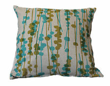 CLOTH POD PEACOCK BLUE GREEN SCATTER CUSHION COVER THROW PILLOW BED SOFA DECOR