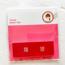 JYP Entertainment Twice Lotte Young Plaza Character Pop-Up Store Name Tag  A ver