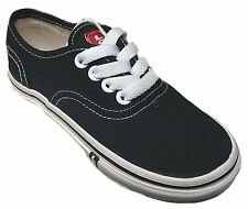 LEVIS 554736-01A RYLEE 3 Toddlers (M) Black Canvas Skate Shoes