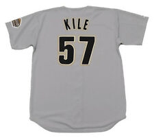 DARRYL KILE Houston Astros 1994 Majestic Throwback Away Baseball Jersey