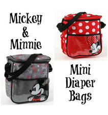 NEW Disney Baby Mickey/Minnie Mouse Mini Bottle Tote Lunch Bag Diaper