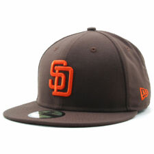 San Diego Padres New Era MLB Legacy Cooperstown Collection Brown Fitted Cap Hat