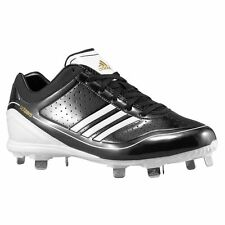 MENS ADIDAS ADIZERO DIAMOND KING LOW BASEBALL CLEAT SHOES SIZES 13 NEW