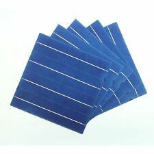 156MM Poly Solar Cells 6x6 With Busbar Tabbing Wire For DIY Solar Panel Kit