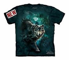 Night Wolves Collage Youth T-Shirt by The Mountain - 15-3303