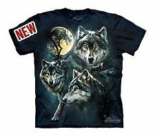Moon Wolves Collage Youth T-Shirt by The Mountain - 15-3309
