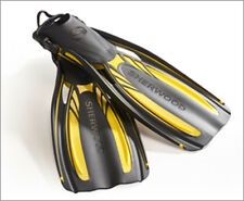 Sherwood Elite Open Heel Scuba Diving Dive Fins - Yellow - All Sizes