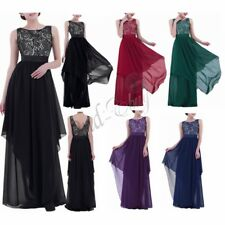 Women Formal Long Prom Evening Party Bridesmaid Wedding Ball Gown Formal Dress