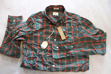 J.Crew JCrew Men green plaid slim secret wash heathered poplin shirt Size XS