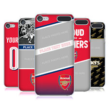CUSTOM CUSTOMISED PERSONALISED ARSENAL FC 2017/18 CASE FOR APPLE iPOD TOUCH MP3