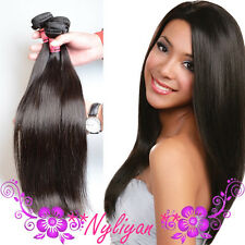 New 50g/Bundle Unprocessed Human Hair Extensions Wefts Straight Hair Vergin