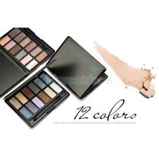 12 Colors Matte Shimmer Eyeshadow Palette Smokey Fashion Eye Shadow Makeup Set