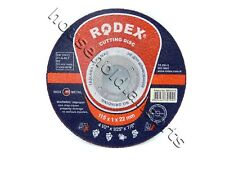 Rodex Inox Stainless Steel Metal Cutting 1mm Ultra Extra Thin Disc Angle Grinder