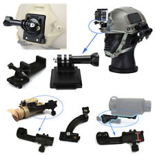 Tactical Helmet Side Rail Fixed Mount Base Adapter for Sports Camera  PVS14 NVG