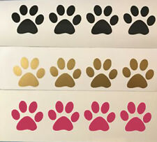 100 Paw Prints Cat Dog Vinyl Decals Stickers Puppy Kittens Wall Bedroom Yeti cup