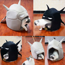 Pets Cat Dog House Puppy Batman Sleeping Bed Mat Pad Igloo Nest Cushion Kennel