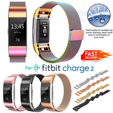 For Fitbit Charge 2 Replacement Stainless Steel Wristband Wrist Strap Watch Band