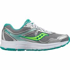 Saucony Women's Cohesion 10 Wide Running Shoes in Grey Sizes 5 to 12