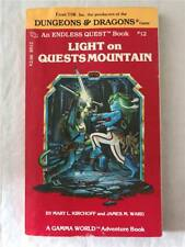 Dungeons and Dragons: Light on Quests Mountain (1983) Paperback