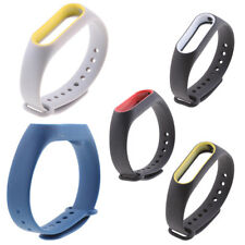 Silicone 23cm Wrist Bracelet  Band Strap For Xiaomi Mi Band 2 Smart Watch