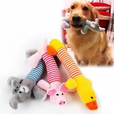 Pet Dog Toys Puppy Chew Squeaker Squeaky Plush Sound Pig Elephant Duck Gift Toy