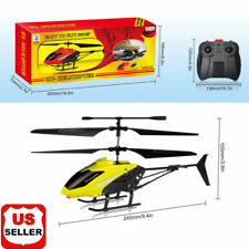 RC 3.5CH Mini Helicopter Radio Remote Control Aircraft Micro With LED Light US