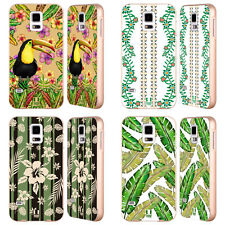 HEAD CASE DESIGNS TROPICAL VIBES GOLD BUMPER SLIDER CASE FOR SAMSUNG PHONES