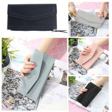 Fashion Long Paragraph Wallet Clutch ID Credit Card Holder Purse Wristlet